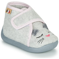 Shoes Girl Slippers GBB HELORIE Grey