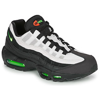 Shoes Men Low top trainers Nike AIR MAX 95 Black / White / Green