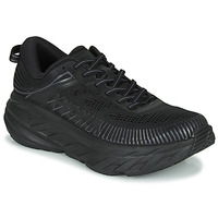 Shoes Men Low top trainers Hoka one one BONDI 7 Black