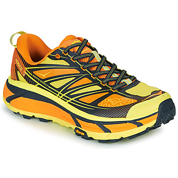 Shoes Men Low top trainers Hoka one one MAFATE SPEED 2 Yellow / Orange