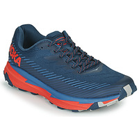 Shoes Men Low top trainers Hoka one one TORRENT 2 Blue / Red