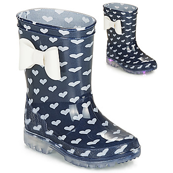 Shoes Girl Wellington boots Be Only AMOUR FLASH Marine