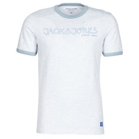 material Men short-sleeved t-shirts Jack & Jones JORLEGEND White