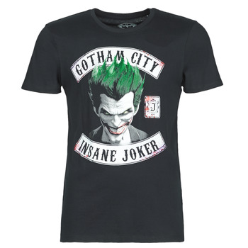 material Men short-sleeved t-shirts Yurban INSANE JOKER Black