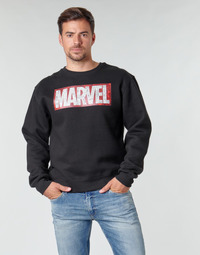 material Men sweaters Yurban MARVEL MAGAZINE CREW Black