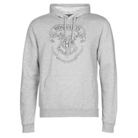 material Men sweaters Casual Attitude HOGWARTS BLAZON Grey