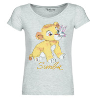 material Women short-sleeved t-shirts Moony Mood THE LION KING Grey