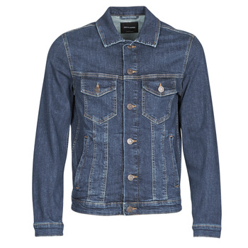 material Men Denim jackets Jack & Jones JJIALVIN Blue / Dark