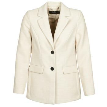 material Women coats Vero Moda VMCALA White