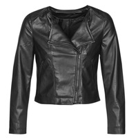 material Women Leather jackets / Imitation leather Only ONLDALY Black