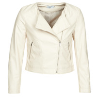 material Women Leather jackets / Imitation leather Only ONLDALY Beige