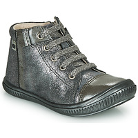 Shoes Girl High top trainers GBB OUNA Silver