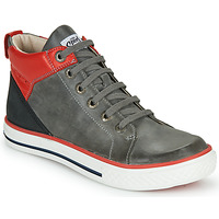 Shoes Boy High top trainers GBB MERINO Grey