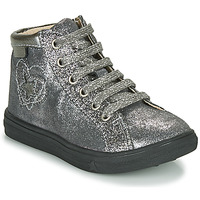 Shoes Girl High top trainers GBB MARTA Silver