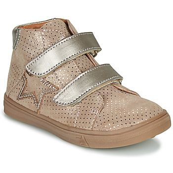 Shoes Girl High top trainers GBB MAYMA Beige
