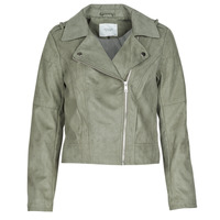 material Women Leather jackets / Imitation leather JDY JDYPEACH Grey