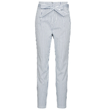 material Women chinos Vero Moda VMEVA White / Grey