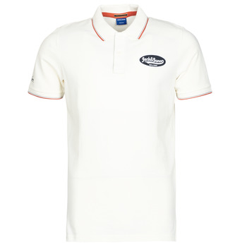 material Men short-sleeved polo shirts Jack & Jones JORAYDON White