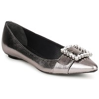 Shoes Women Ballerinas Marc Jacobs MJ19417 Silver