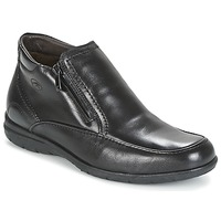 Shoes Men Mid boots Fluchos LUCA Black
