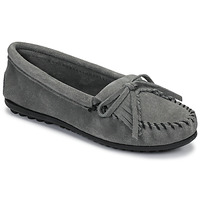 Shoes Women Loafers Minnetonka KILTY Grey