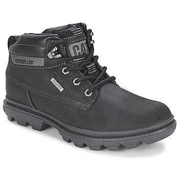 Shoes Men Mid boots Caterpillar GRADY waterproof Black
