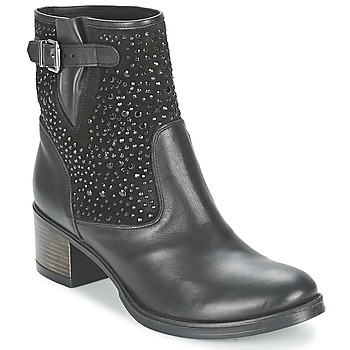 Shoes Women Ankle boots Meline NERCRO Black