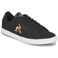 Shoes Women Low top trainers Le Coq Sportif ELSA Black / Pink