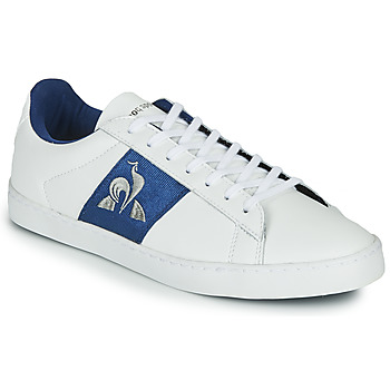 Shoes Women Low top trainers Le Coq Sportif ELSA White / Blue