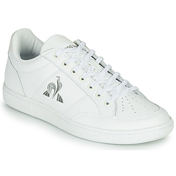Shoes Women Low top trainers Le Coq Sportif COURT CLAY White
