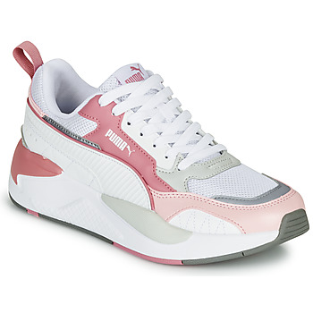 Shoes Women Low top trainers Puma X-RAY 2 White / Pink