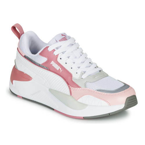 pronóstico Apuesta Posicionamiento en buscadores  Puma X-RAY 2 White / Pink - Fast delivery | Spartoo Europe ! - Shoes Low  top trainers Women 85,00 €