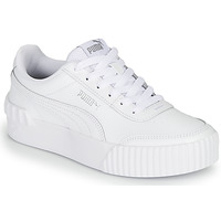 Shoes Women Low top trainers Puma CARINA LIFT White