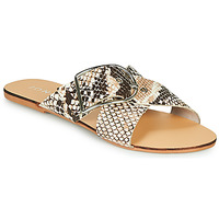 Shoes Women Mules Jonak JASMINE Brown / Python