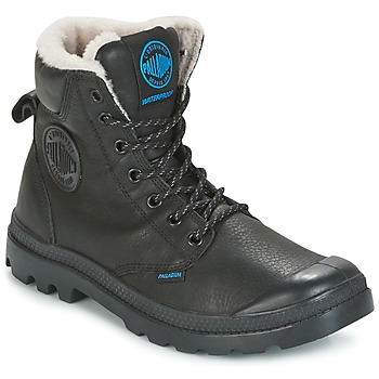 Shoes Mid boots Palladium PAMPA SPORT WPS Black