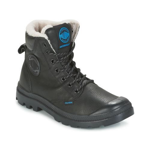Shoes Mid boots Palladium PAMPA SPORT WPS Black