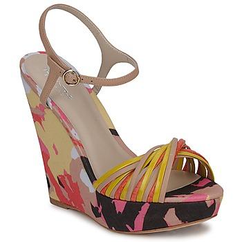 Sandals Bourne KARMEL BEIGE / Multicoloured 350x350
