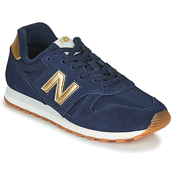 Shoes Women Low top trainers New Balance 373 Blue / Gold