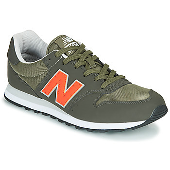 Shoes Men Low top trainers New Balance 500 Kaki / Orange