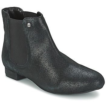 Shoes Women Mid boots Elle MABILLON Black / Brillant