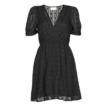 material Women Short Dresses Moony Mood ACTINE Black