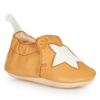 Shoes Children Slippers Easy Peasy BLUMOO ETOILE Cognac