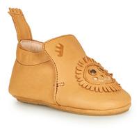 Shoes Children Slippers Achile BLUBLU LION Cognac