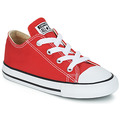 Shoes Children Low top trainers Converse CHUCK TAYLOR ALL STAR CORE OX Red