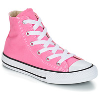 Shoes Children High top trainers Converse CHUCK TAYLOR ALL STAR CORE HI Pink