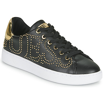 Shoes Women Low top trainers Guess RAZZ Black