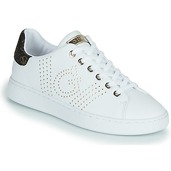 Shoes Women Low top trainers Guess RANVO White