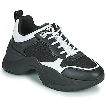 Shoes Women Low top trainers Guess JULESS Black / White
