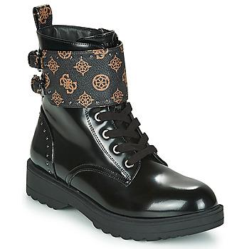 Shoes Women Mid boots Guess WANDA Black