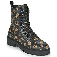 Shoes Women Mid boots Guess OXANA Black